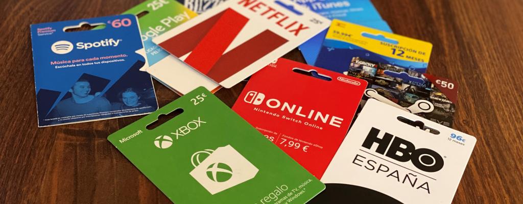 Gift Cards, el fascinante mundo de las tarjetas regalo