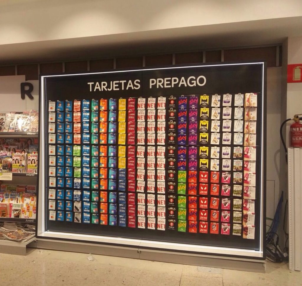 tarjeta regalo gift card mall store grocery
